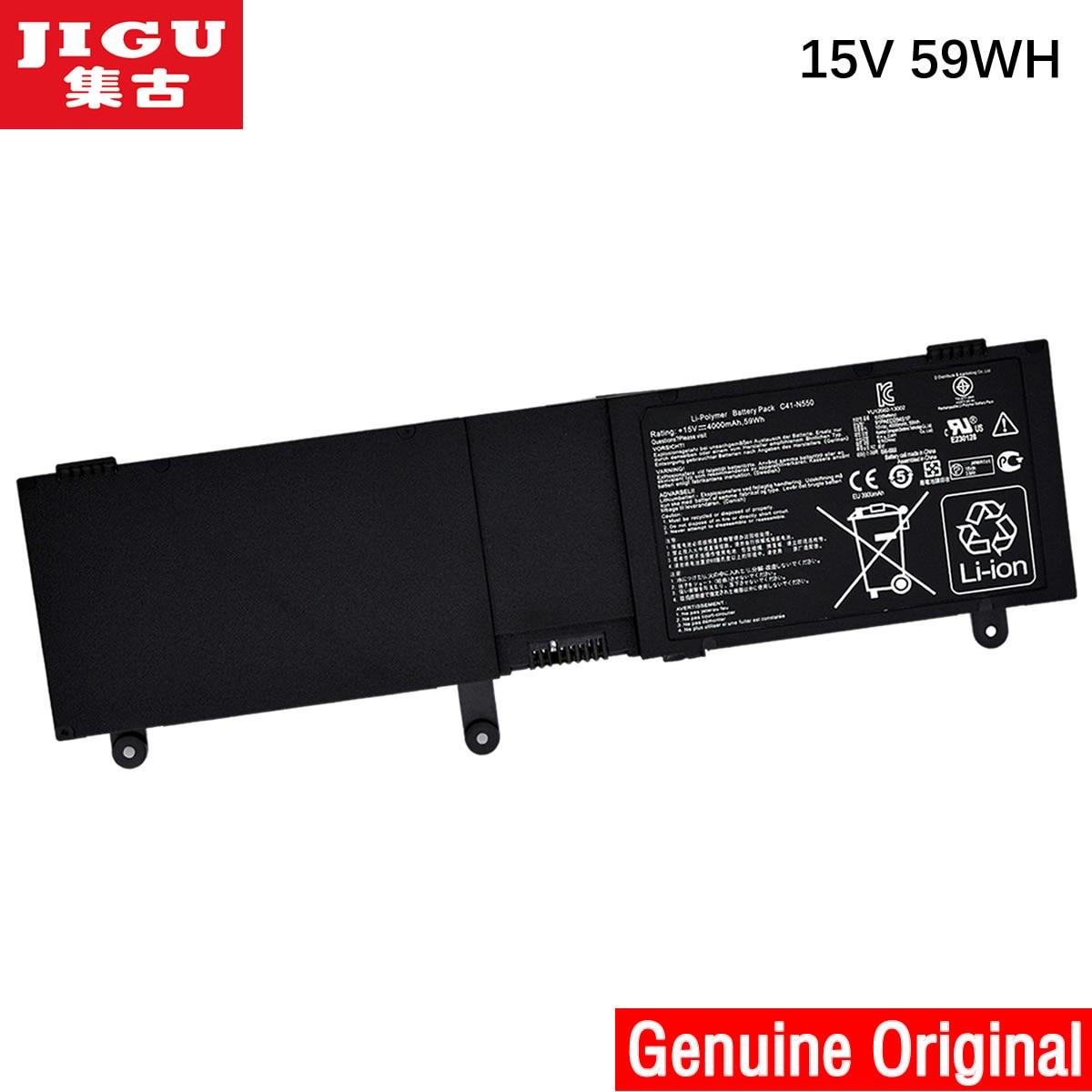 C41 N550 батареи для ноутбука JIGU для ASUS G550 G550J G550JK G550JK4700 N550JK N550JV ROG G550 G550J G550JK Series