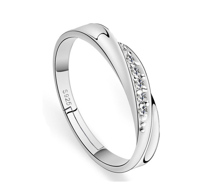 Adjustable Silver Rings For Women