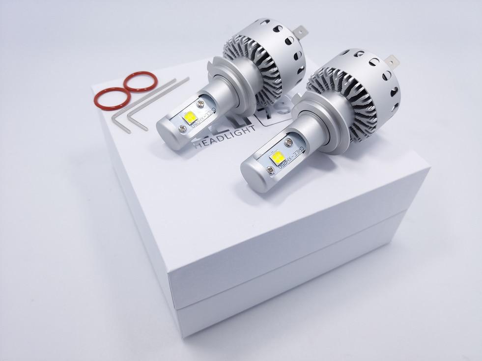 Super Parlaq Avtomatik Universal Fara 7S H4 / 9003 / HB2 160W - Avtomobil işıqları - Fotoqrafiya 2