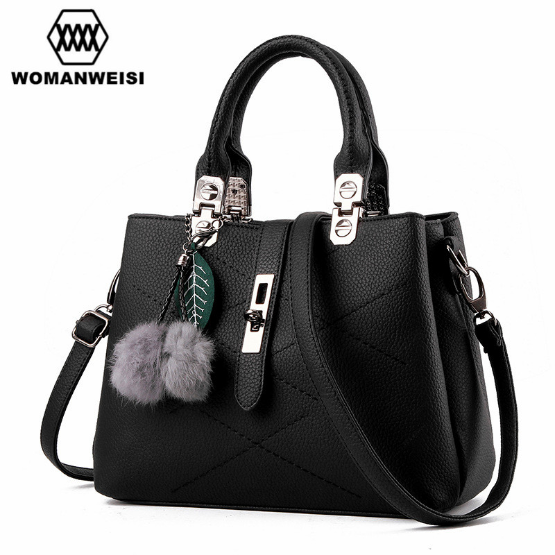 2018 New Arrival Designer Handbags High Quality Leather Famous Brand Women Messenger Bags Female Cross-body Bag sac a main Hobo 2015 special offer bolsas designer handbags high quality korean manufacturers selling new are cross printed student bag cheap