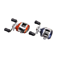 YUMOSHI Right or Left hand Baitcasting Reel 12+1BB 6.3:1 Bait Casting Fishing Reel Magnetic brake Water Drop Wheel Coil