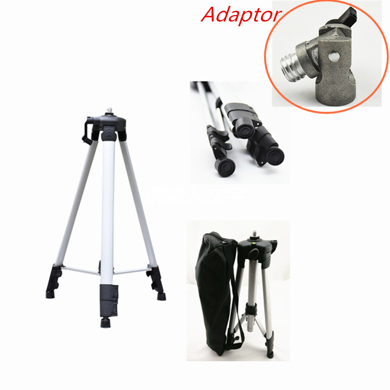 150cm Laser Level Tripod with 5/8 Adapter Universal Thread Rotar Joint Head Tripod of Slash Functional Laser Lines Laser laser head optima 5 opt 5