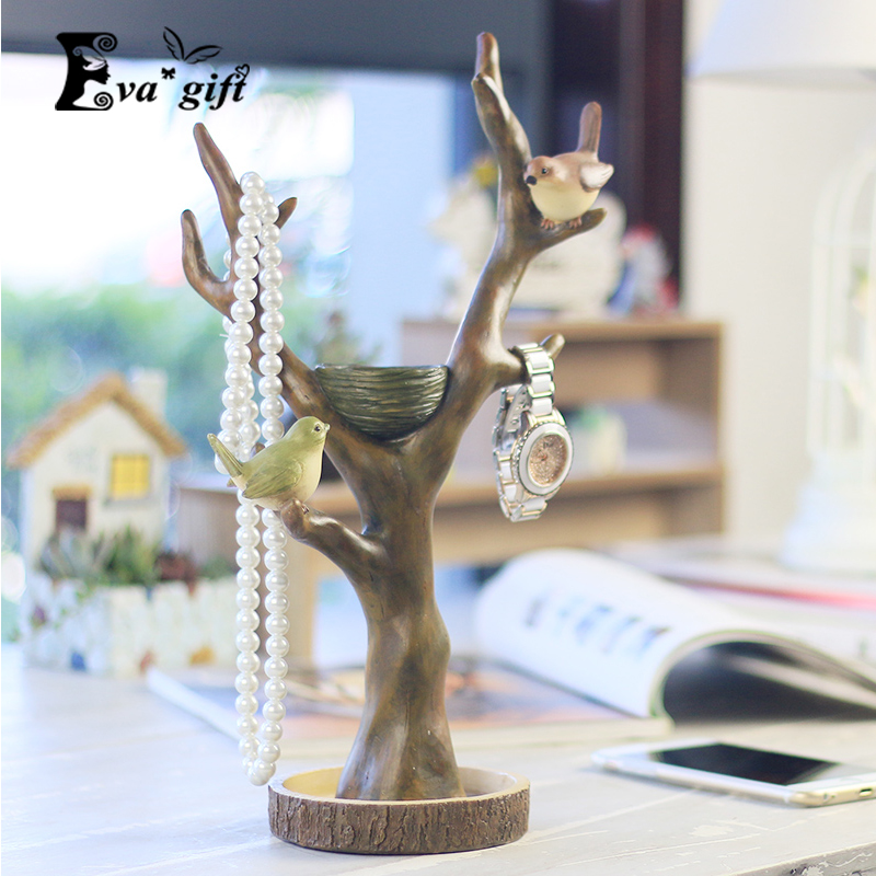 Christmas decor branches jewelry display holder for for Room decor jewelry holder
