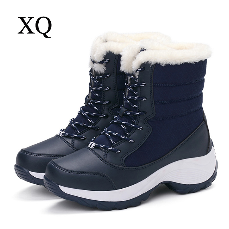 Beautiful Women Boots 2017 New Arrival Winter Boots Warm Snow Boots Fashion Platform Ankle Unisex Shoes ...