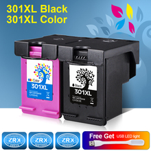 2pcs Ink Cartridge for HP 301XL HP301XL CH563EE CH564EE for HP Deskjet 1000 1050 2000 2050 2510 3000 3050 3540 1010 1510 2540