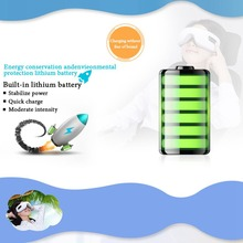 Rechargeable Electric Air Pressure Eye Massager with Mp3 Functions