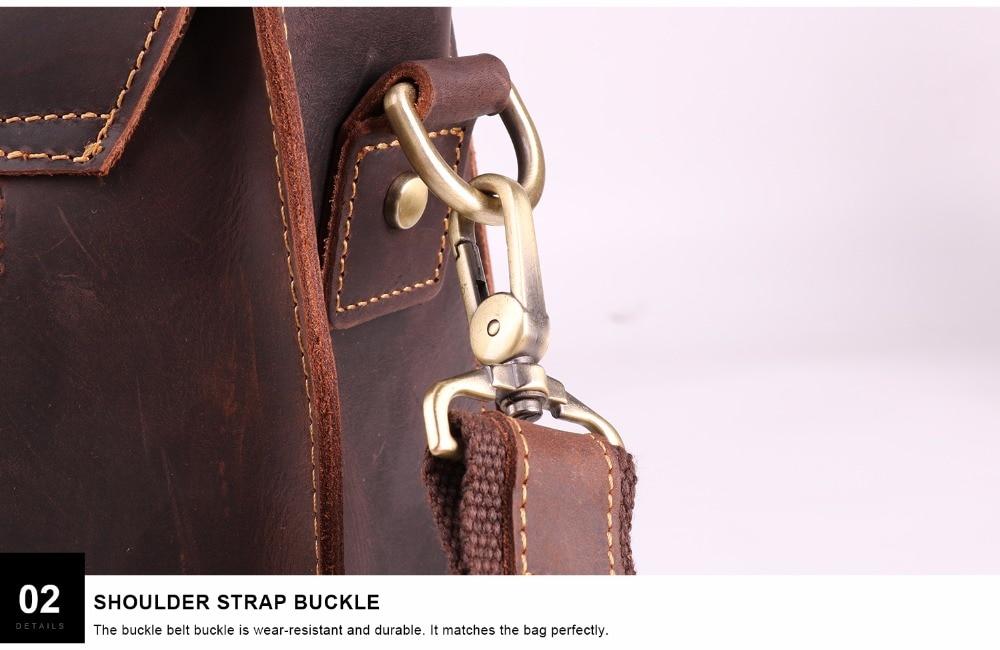 HTB1hBBdJH1YBuNjSszeq6yblFXa3 JOYIR 2019 Vintage Men's Genuine Leather Briefcase Crazy Horse Genuine Leather Messenger Male Laptop Bag Men Business Travel Bag
