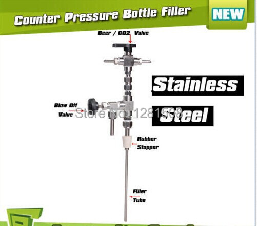 Aliexpress Brand New Stainless Steel Counter Pressure Beer Bottle Filler Home Brew Co2 Brewing Free Shipping From Reliable
