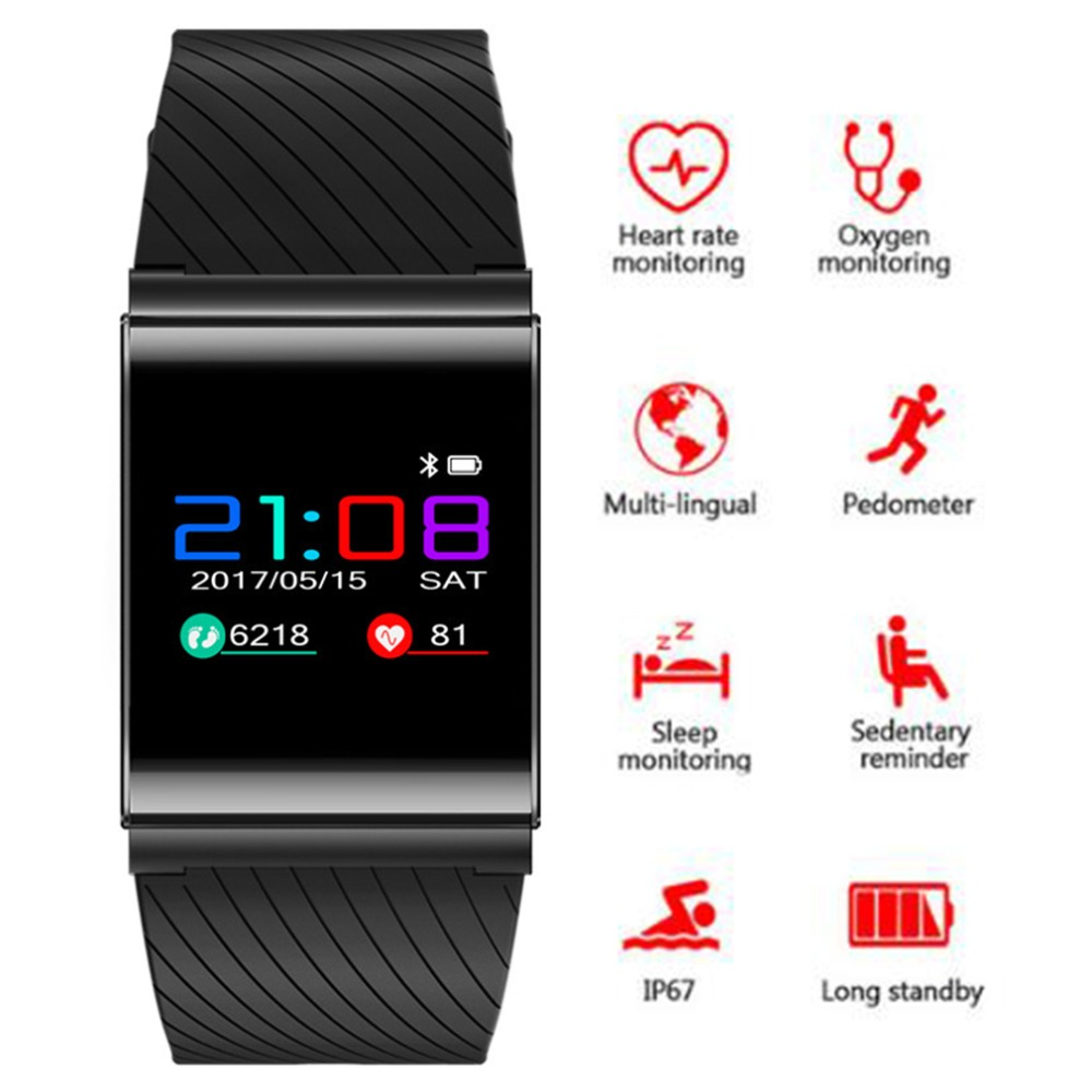 X9 Pro Smart Wristband IP67 Blood Pressure Blood Oxygen Heart Rate Monitor Bluetooth Intelligent Smart Bracelete For Android iOS skmei b15s man smart wristband blood oxygen blood pressure monitor pedometer heart rate alarm watch bluetooth clock android ios