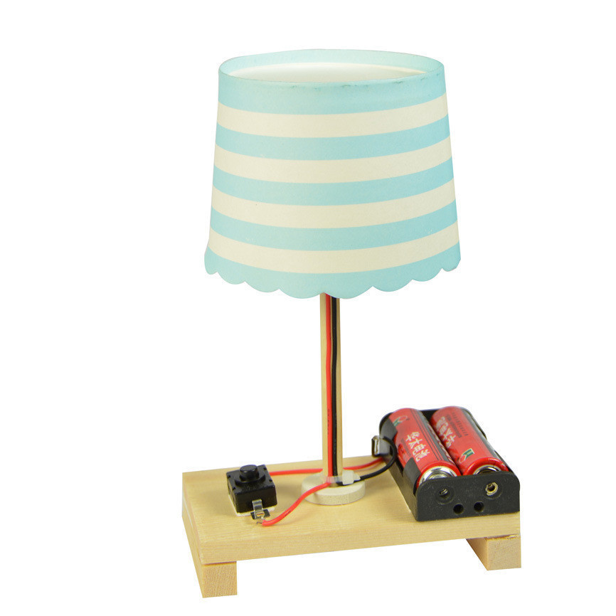 Creative Paper Cup Table Lamp Model Material Science Technology Primary Students Scientifically Invent DIY Assembly Multicolor