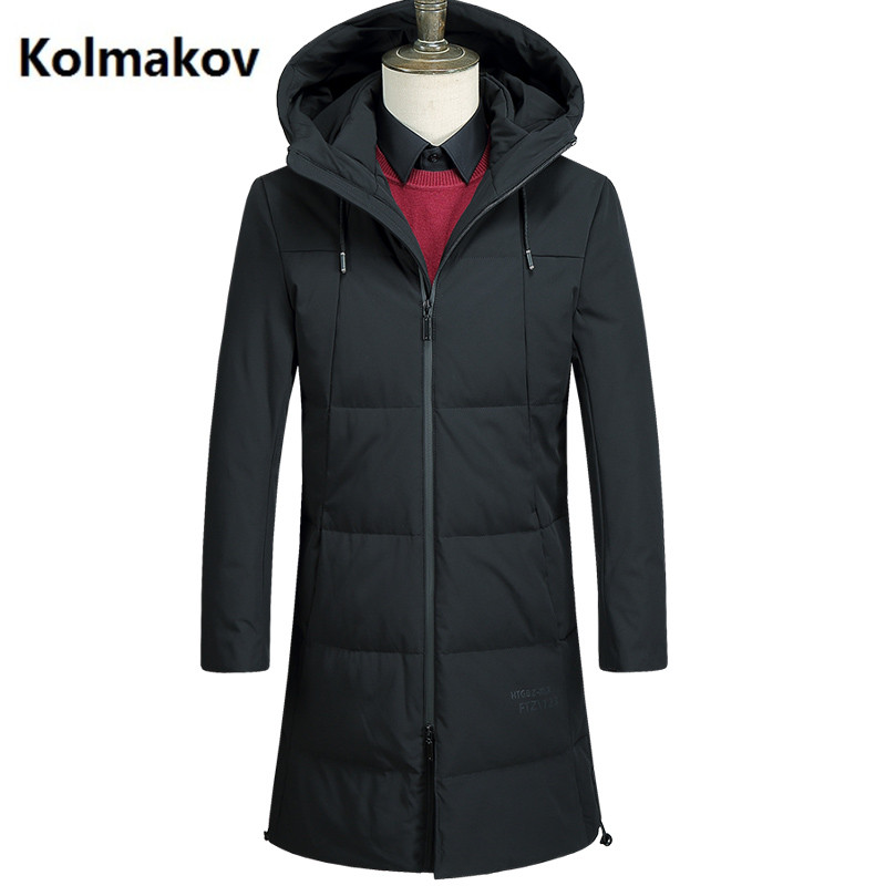 2017 winter Hooded Down Coats Mens high quality casual men coats ,White duck down down jackets men YR089