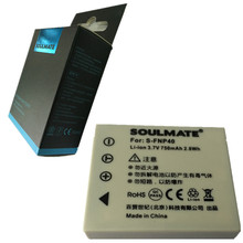 SOULMATE NP-40 lithium batteries pack FNP40 Digital Camera Battery NP40 For FUJIFILM Z1 Z2 Z3 Z5 fd F402 F460 F470 F480 F650