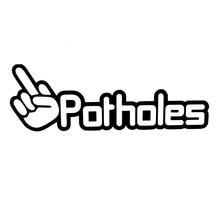 HotMeiNi 22.5CM*7.6CM F Potholes Middle