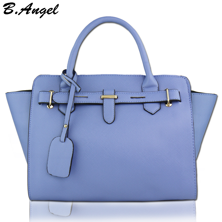 цены High quality candy color women handbag fashion women messenger bag lady office bag brand designer tote bag