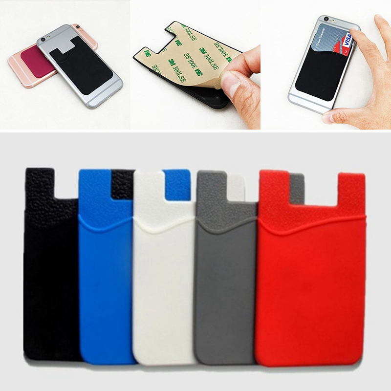1pc Back Cover Adhesive Sticker Sim/id/credit Card Pocket Pouch Holder For Iphone Samsung Socket Android Smart Phones Do You Want To Buy Some Chinese Native Produce?