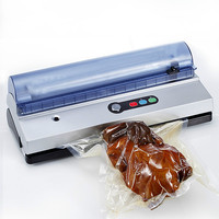 Vacuum Food Sealers automatic household commercial 3mm sealing machine extractor small glue packaging plastic sea