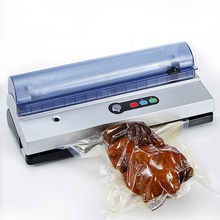 Vacuum Food Sealers automatic household commercial 3mm sealing machine extractor small glue packaging plastic sea(China)