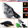 Motorcycle LED Integrated Tail Light + Turn Signal Blinker For Kawasaki ZX-10R 2008-2010 , ZX-6R 2009-2010, Z750/Z1000 2007-2009