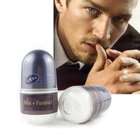 MEN Ball Body Lotion Fragrance Remove Body Odor Deodorant Underarm Cleaner Perfume Antiperspirant 24 Hours Roll