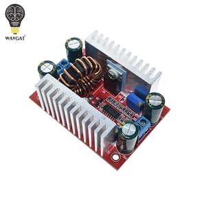 Image 4 - تيار مستمر 400 واط 15A خطوة المتابعة دفعة محول ثابت مصدر إمداد بالتيار LED سائق 8.5 50 فولت إلى 10 60 فولت شاحن الجهد خطوة حتى وحدة