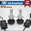 G7 LED Headlight Conversion Kit H4/9003/H1/H3/H7/9005/9006/H8 H9 H11 50W 8000LUMEN 6500k REPLACE FACTORY HIGH AND LOW BEAM
