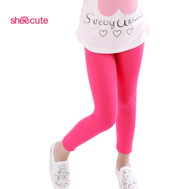 Mädchen Hosen neu kommen Süßigkeiten Farbe Mädchen Leggings Kleinkind klassische Leggings 2-13Y Kinder Hosen Baby Kinder Leggings