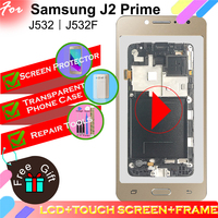 LCD Display For Samsung Galaxy J2 Prime G532 SM G532 SM G532F G532F Touch Screen Digitizer Assembly BEZEL Frame with Home Button