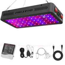 Phlizon 600 w kweeklampen led grow light Volledige Spectrum Rood Blauw UV indoor bloem Led Groeiende Lampen Voor grow tent box hydrocultuur systeem(China)