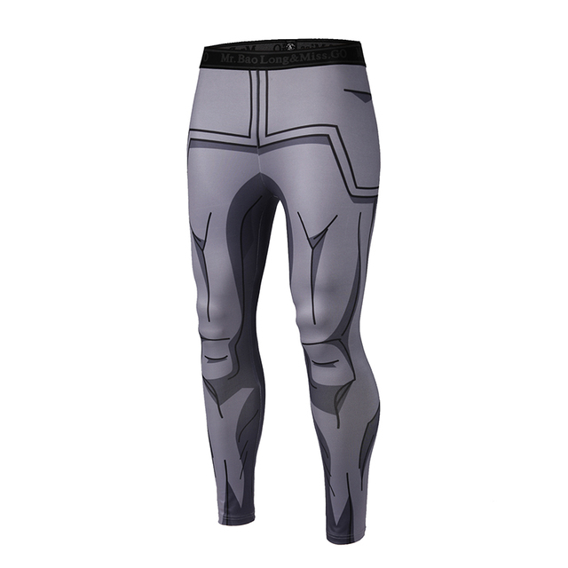 Brand Clothing 2017 New Arrive Mens Pants 3D Print Dragon Ball Z Naruto Skinny Leggings Trousers Fashion Tights Sweatpants M-3XL 3