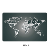 700 450mm World Map Keyboard Mouse Pad Large Size Table Mat Soft PC Computer Pad For
