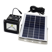 Hot Sales Solar Power LED Flood Night Light Waterproof 5W Outdoor Garden Decoration Landscape Spotlight Wall