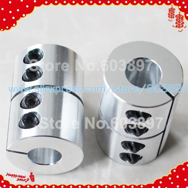 US $12 0 |2pcs CNC spider rigid shaft coupler connector couplings D40 L50  14mm 19mm 17mm 20mm for engrave machine part 19x19 20x20 14x17-in Shaft
