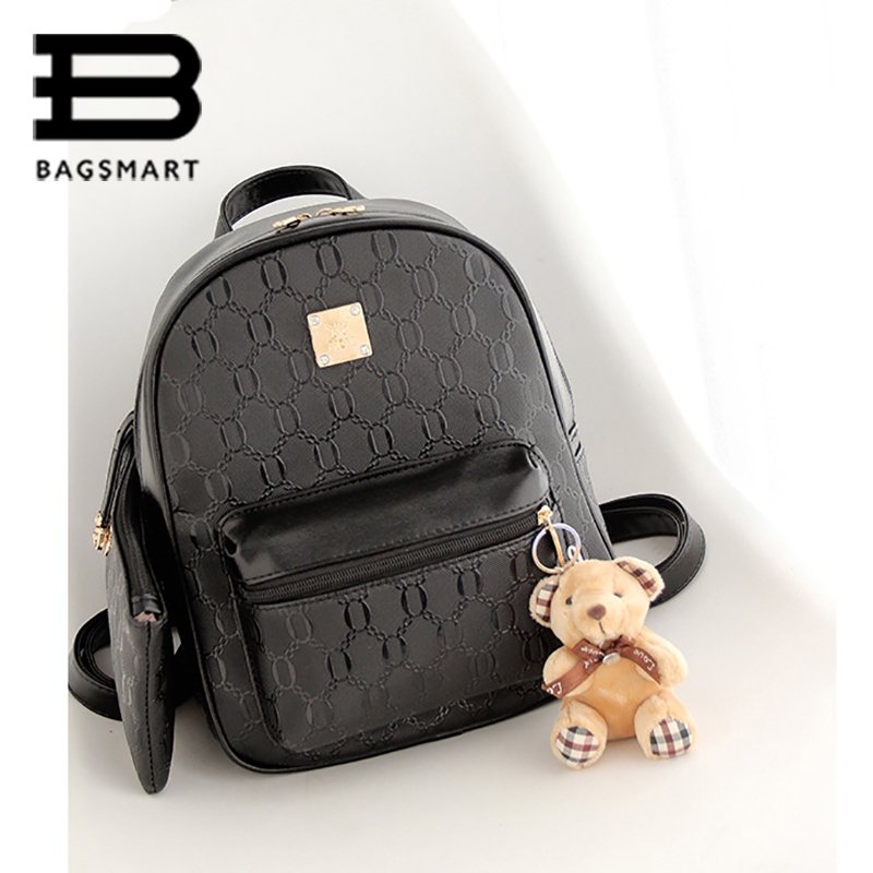 BAGSMART 2016 Cute Backpack With Coon Multifunctional Women's ...