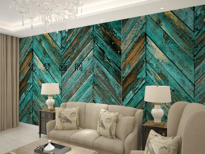 free shipping american country style wallpaper wood irregular wallpaper tv background wall mural wallpaperchina american country style font