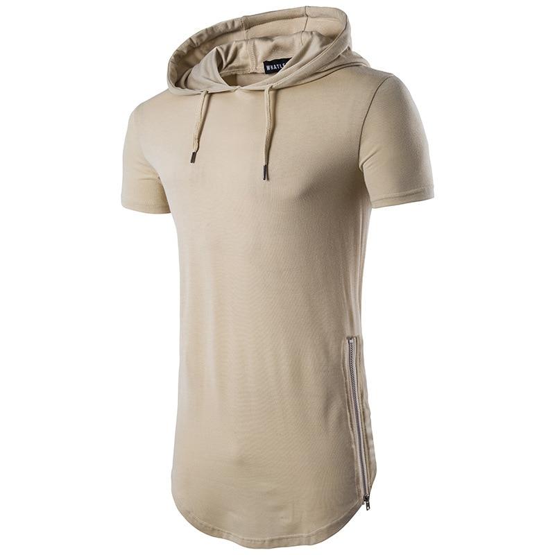 Summer Stylish Men's Zipper men Short sleeve Sleeved T-shirt with Collar fashion tshirts mens clothing t shirts 8colour