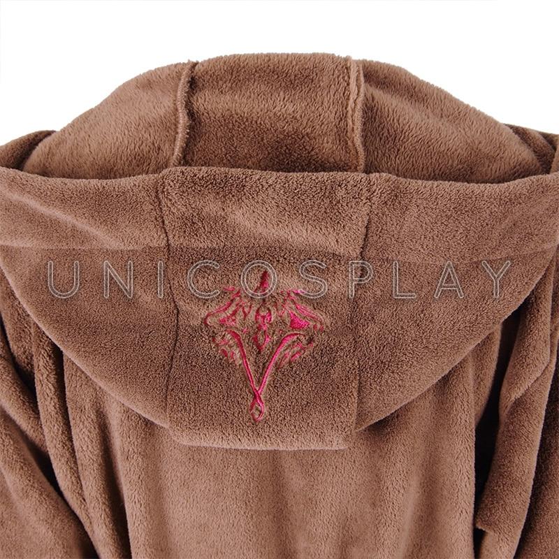 Star Wars Bathrobe Sleep Spa Robe Brown Pajamas Coral Fleece flannel Gown home Dressing for Woman Man