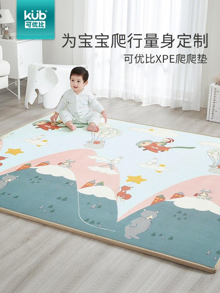 2019 nouveau tapis d'escalade bébé épaissir protection de l'environnement XPE matériel enfants tapis rampant motif créatif tapis d'escalade