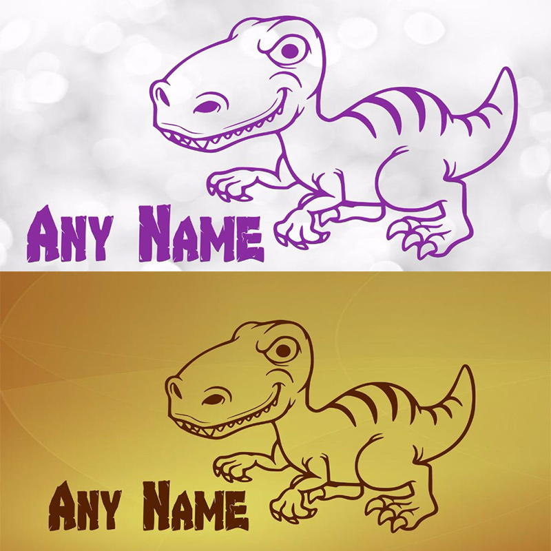 Modern Dinosaur Wall Art For Kids Image Collection - Wall Art Design ...