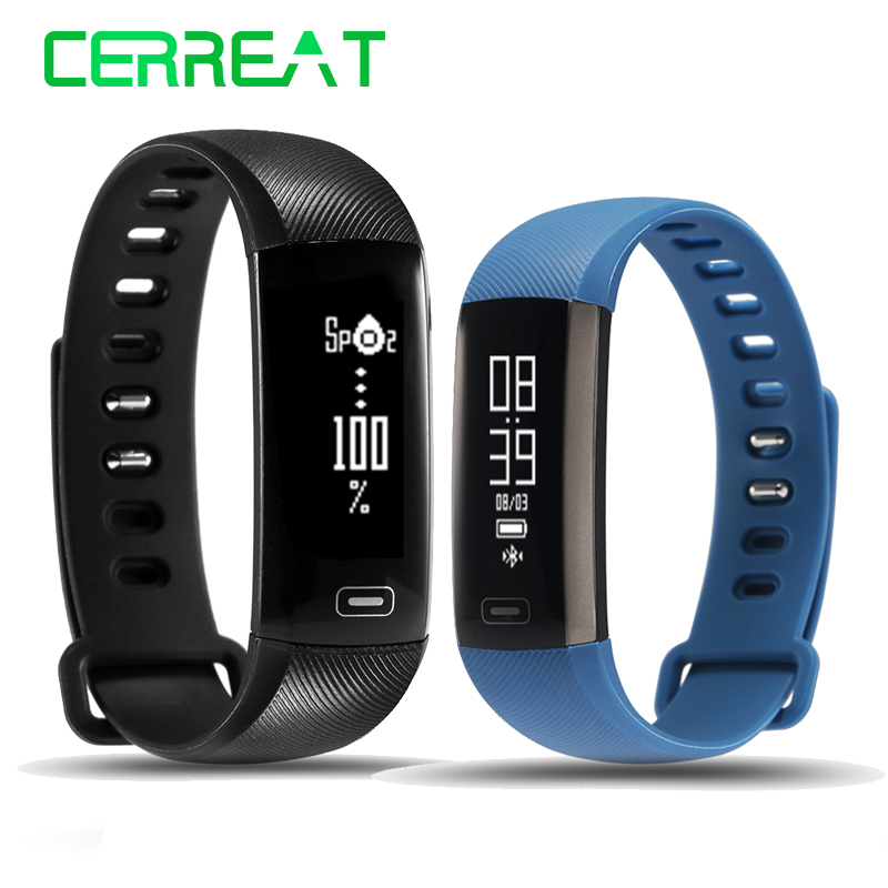 Original R5 Pro Smart Wristband Heart Rate Monitor Blood Pressure Oxygen Oximeter Sport Smart Fitness Bracelet