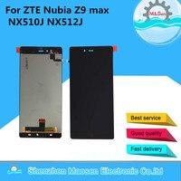 M Sen LCD Screen Display Touch Digitizer For ZTE Nubia Z9 Max NX510J NX512J Black Free