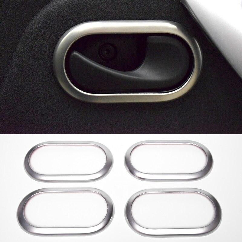 Trim Duster Door-Handle-Covers Logan Largus Interior Lada Megane Inside Renault For Dacia
