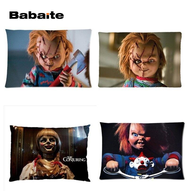 ⑥Babaite alta calidad Annabelle la muñeca angry Chucky rectángulo ...