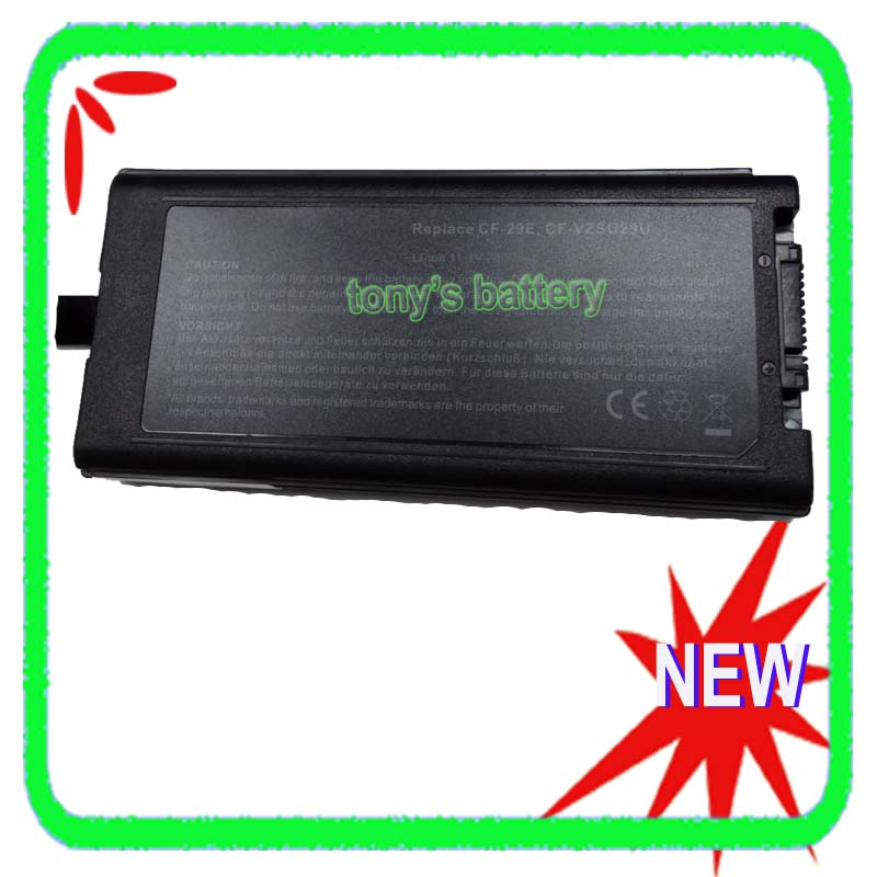 9 Cell Battery for Panasonic Toughbook CF-29 CF-29E CF-51 CF-52 CF-VZSU29 CF-VZSU29A CF-VZSU29U CF-VZSU29ASU ag552 2k cf