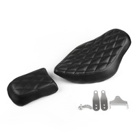 Areyourshop Motorcycle Accessories Rear Passenger Pad Front Driver Solo Seat For Harley Sportster XL 883 1200 72 48 New Arrival