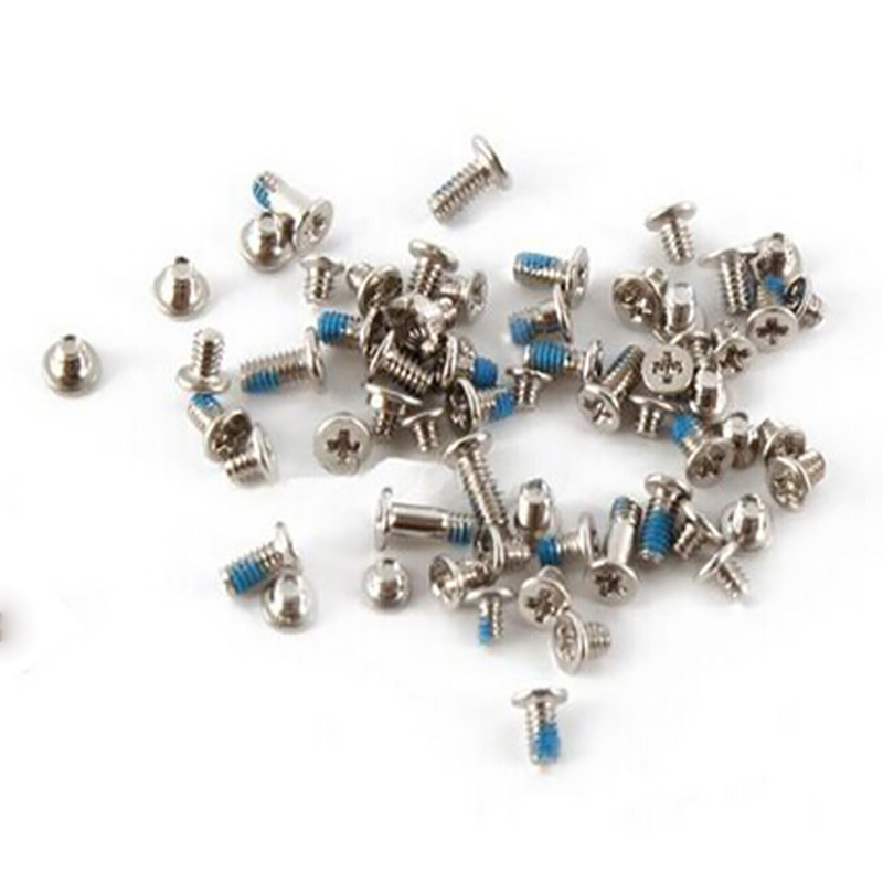 Complete Kit Screws Full Set with 2 Bottom Dock Screw Replacement for iPhone 6p 6sp 7 7p 8 8P X Mobile Accessories