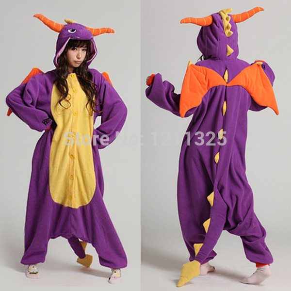 Free Shipping Unisex Adult Purple Spyro The Dragon Cosplay Costume Jumpsuit Onesie Hoodie for Halloween Christmas  sc 1 st  AliExpress.com & Free Shipping Unisex Adult Purple Spyro The Dragon Cosplay Costume ...