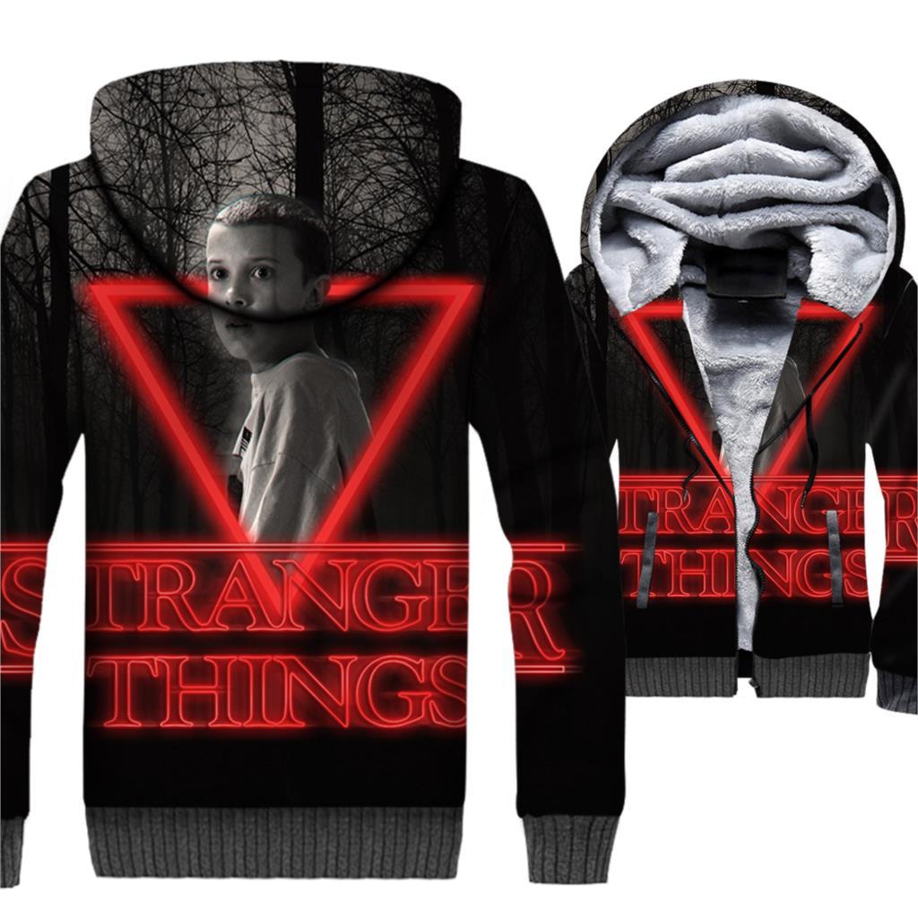 Sweatshirts For Men 3D Jacket Stranger Things Hoddie New Coat Autumn Winter Hoody 2018 Mens Hoodies Harajuku Tops
