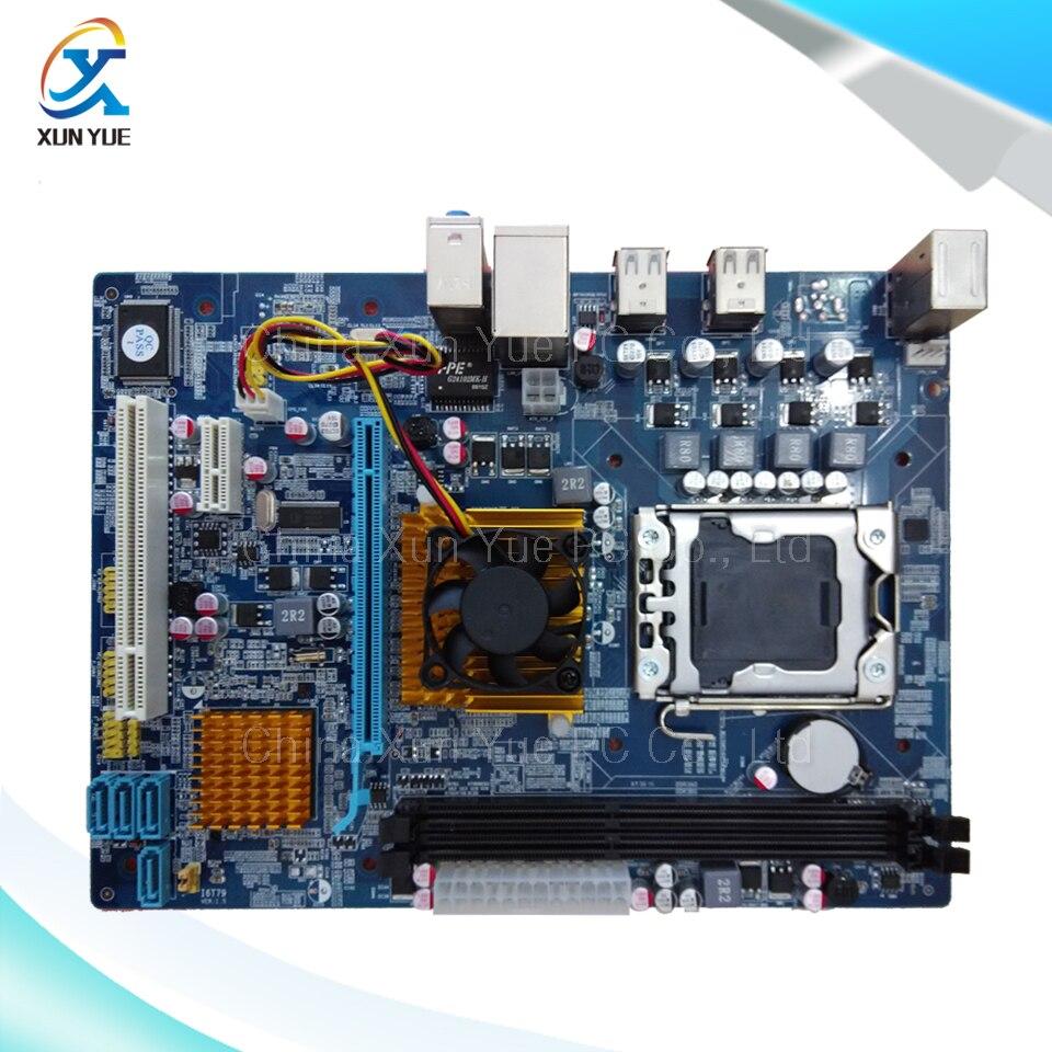 Reboto 100% New Server/Desktop Motherboard X58M Intel X58 LGA 1366 Quad-Core DDR3/ECC 16G All-solid Micro-ATX On Sale militaristic g31 g31mx k g31 desktop motherboard p4 g31 lga 775 ddr2 core quad core 945gc 100% tested ok