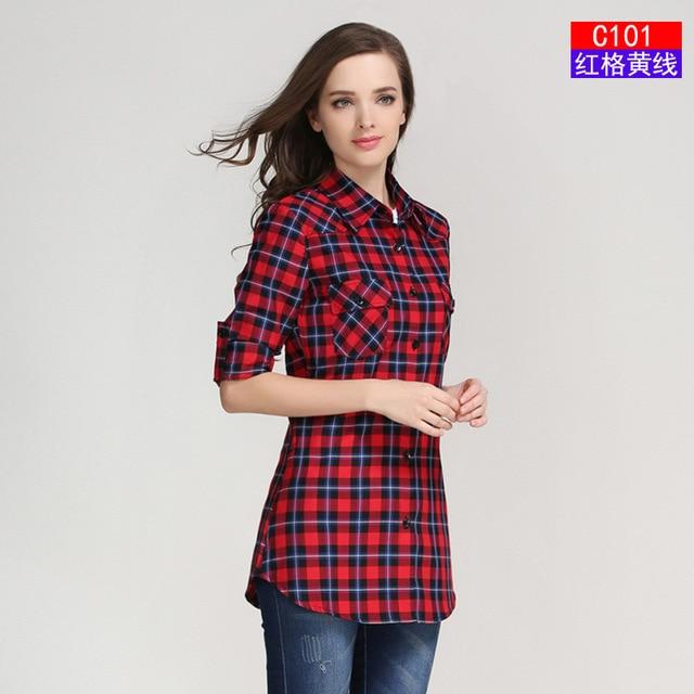 Կանացի վերնաշապիկների նոր տաք վաճառք - Կանացի հագուստ - Լուսանկար 6