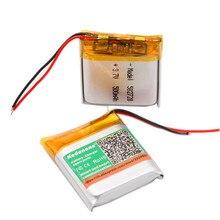 500mAh 582728 литий-полимерный Li-Po литий-ионный аккумулятор Lipo ячеек для Bluetooth динамика PDA ноутбука gps